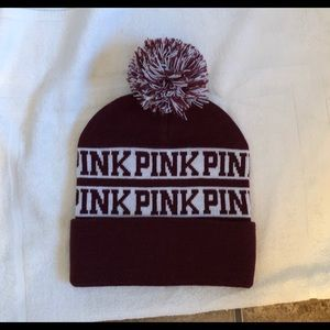 NWOT PINK WINTER HAT